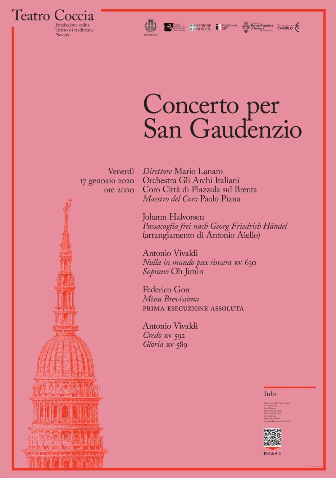 Concerto per San Gaudenzio