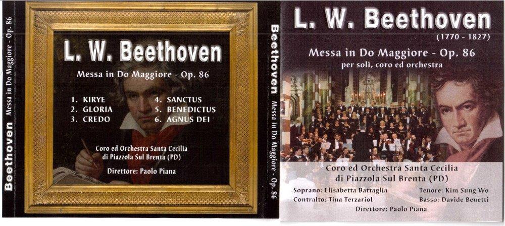 2001 - Messa in Do M. Op. 86 L. van Beethoven