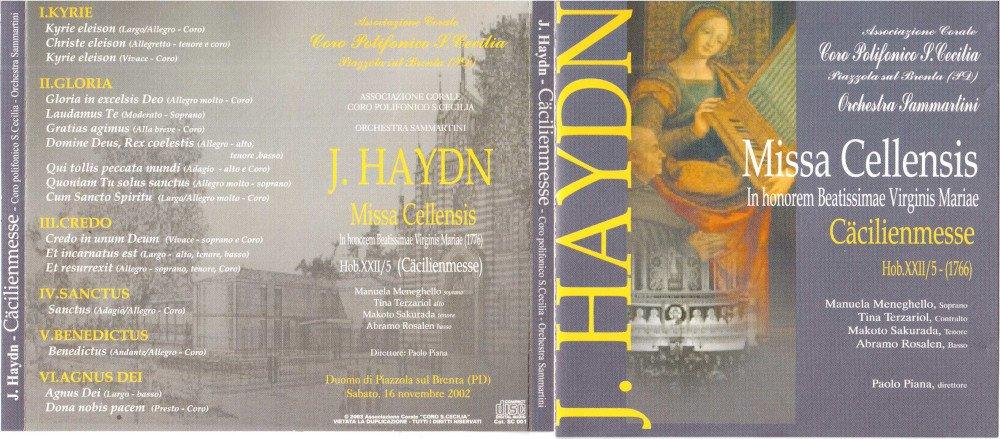 2002 - Cäecilienmesse Hob.XXII5 J. Haydn