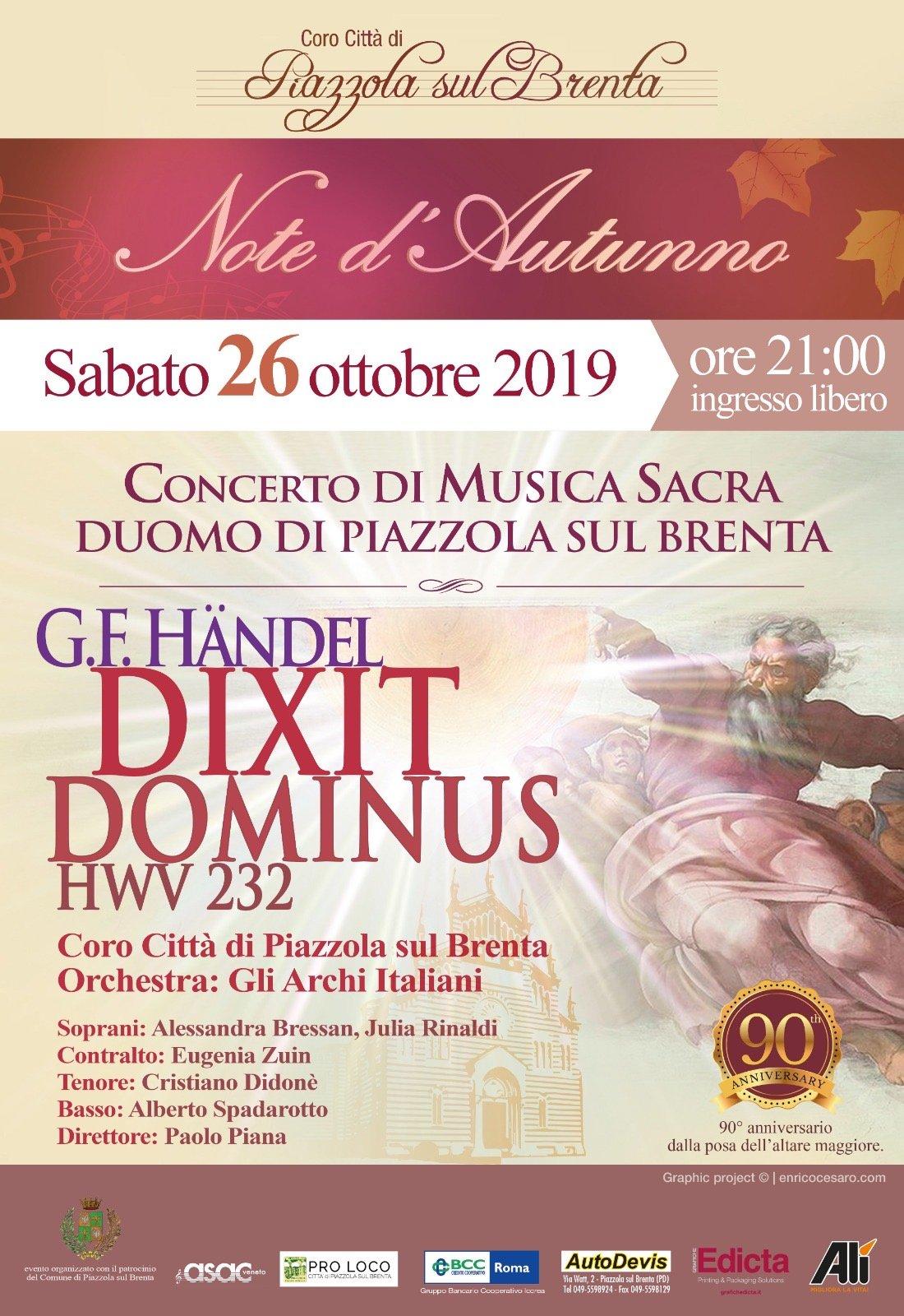 Dixit Dominus HWV 232 di G. F. Händel