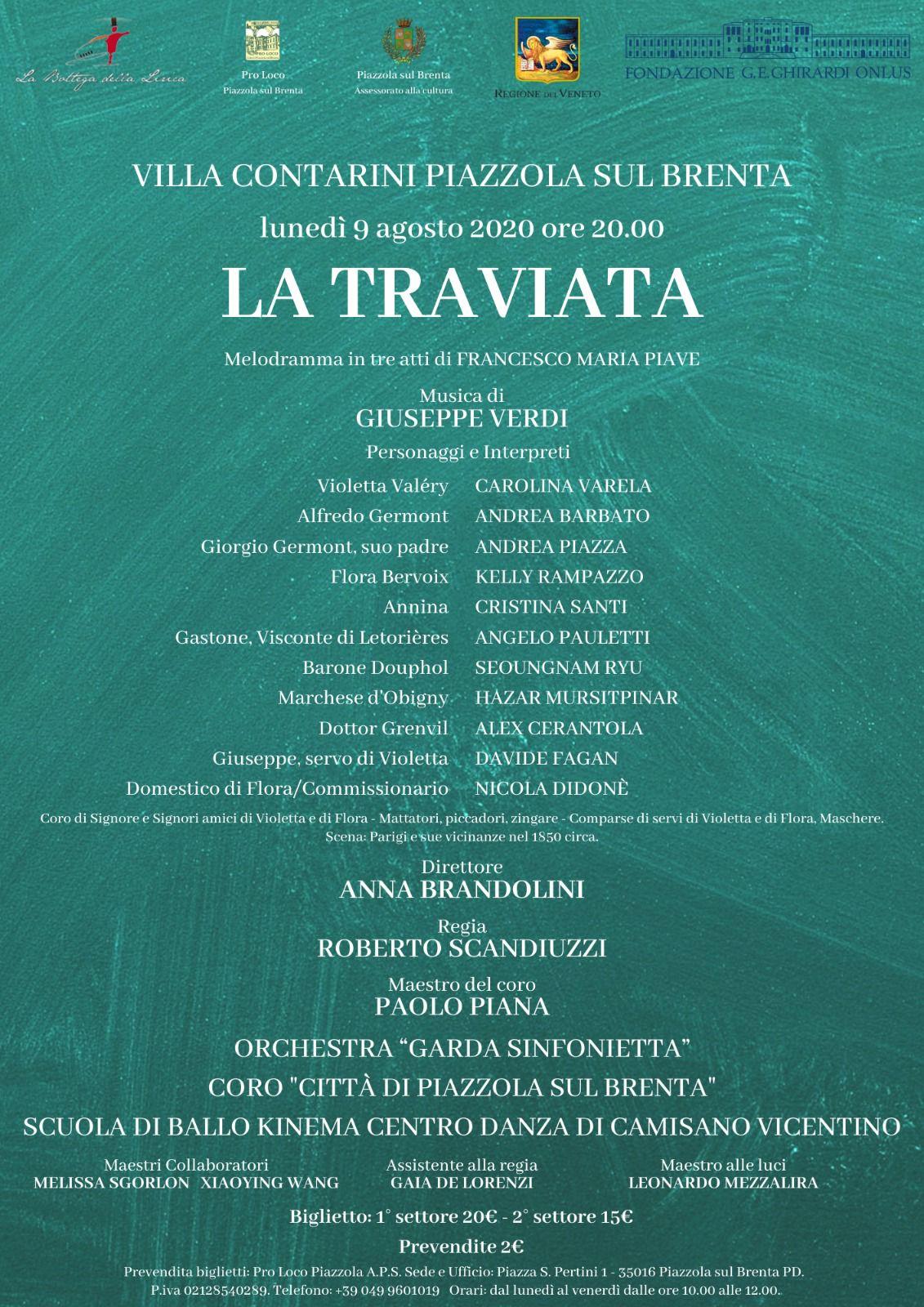 """Programma """"La Traviata"""""""
